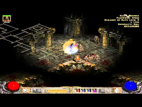 Why Is Durance Of Hate Level 2 So Big - Diablo 2