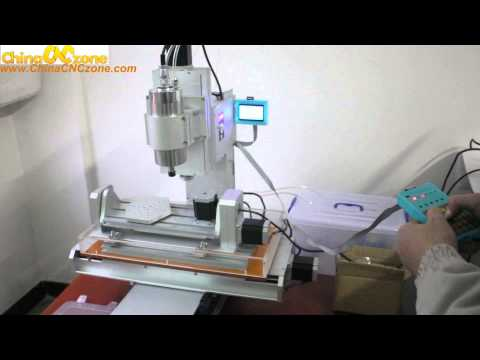 ChinaCNCzone HY-3040 Mini 5 Axis CNC Machine Review---DSP Test