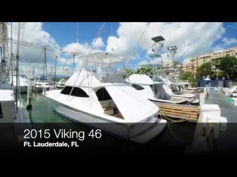 2015 VIking 46 For Sale | Off the Hook Yacht Sales