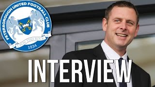 Darragh On Appointing Dave Robertson As Peterborough United Manager