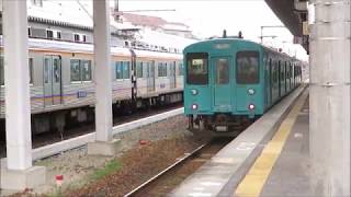 JR和歌山線・橋本駅にて(2019年3月16日撮影)
