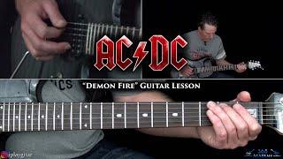 AC/DC - Demon Fire Guitar Lesson