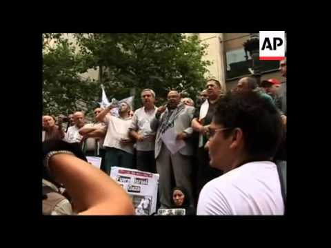 March on Israeli embassy to protest Gaza conflict