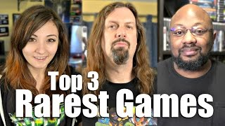 Our Top 3 Rare Games - ANSWERS from Metal Jesus Crew!