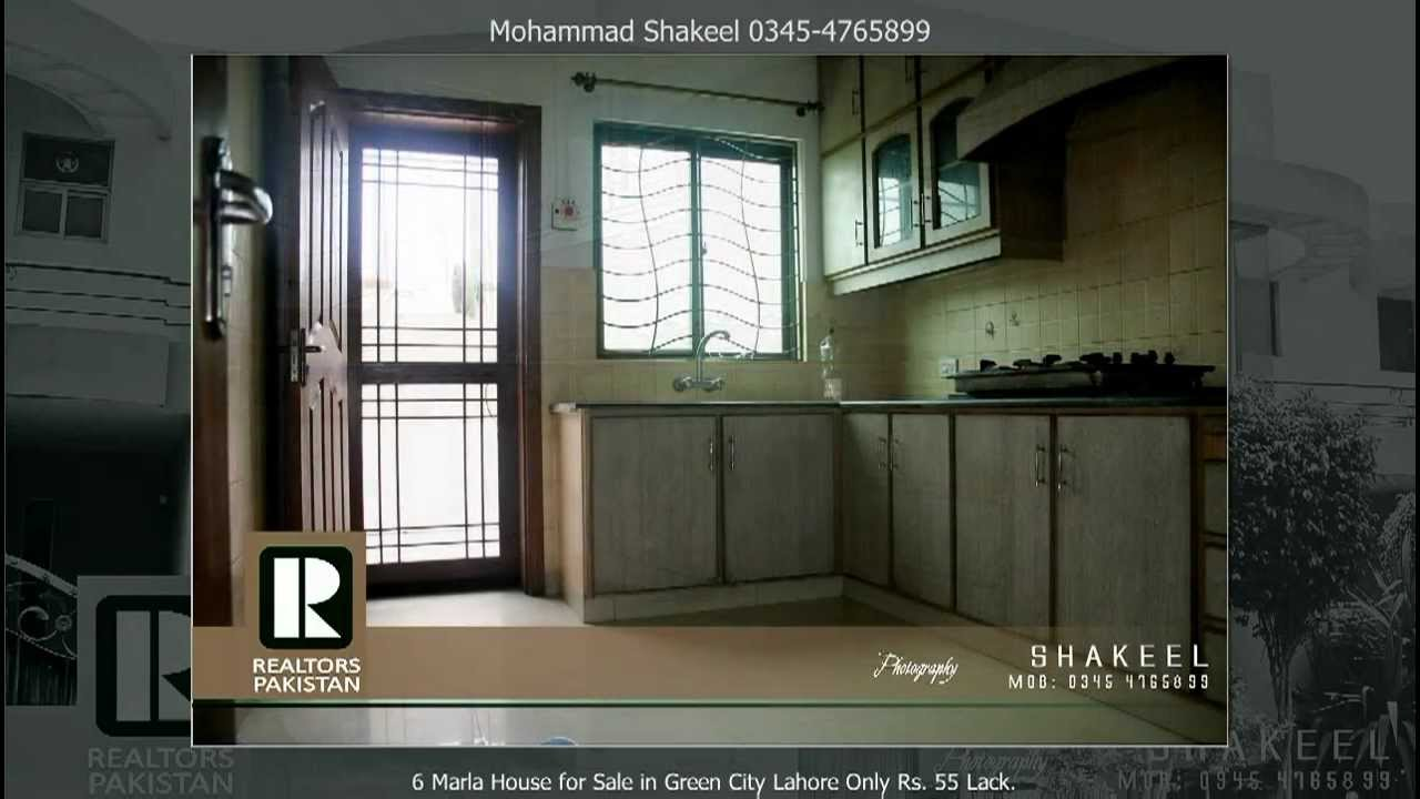 6 marla house for sale in green city lahore price 55 lack only