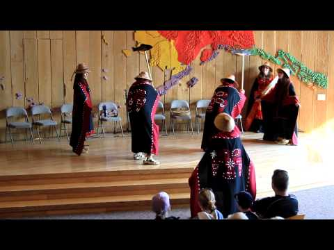 Tlingit Indian salmon dance