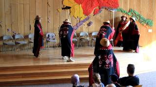Tlingit Indian salmon dance