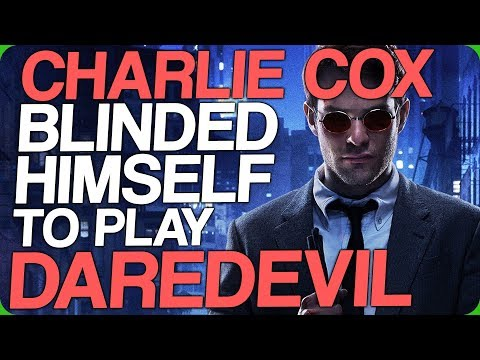 Charlie Cox Blinded Himself to Play Daredevil