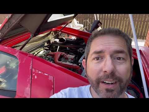 Lotus Esprit Rescue 10 - vacuum leaks and fuel injection problems