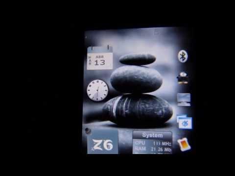 Motorola Z6 ROKR Essence of Balance Theme Linuxmod 2.1
