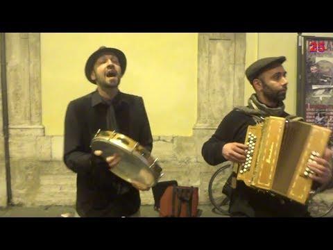 Musica a Roma Pizzica Organetto Tamburello e Canto