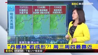 氣象時間 1080714 晚間氣象 東森新聞