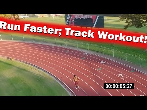 How to Run Faster in Cross Country: 800M Track Workout!