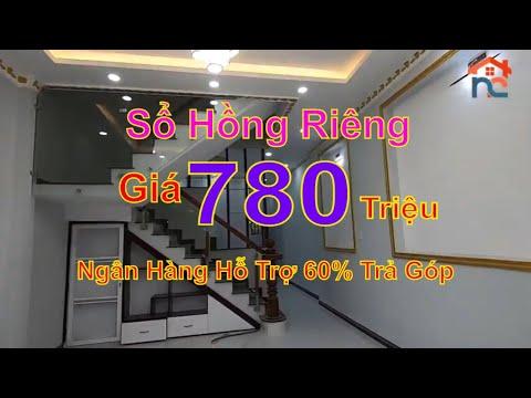 Bán Nhà Vĩnh Lộc A -1 Trệt 1 Lầu - Cần Bán Gấp –giá bán 780 triệu -  Sổ Hồng Riêng – nhận nhà ở liền