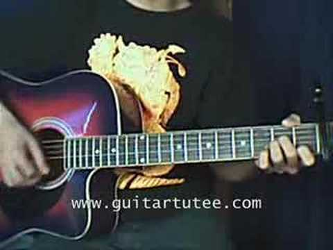 Here Without you (of 3 Doors Down, by www.guitartutee.com)