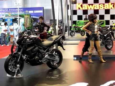 Kawasaki Dancer คาวาซากิ มอเตอร์โชว์ Motor Show 2011