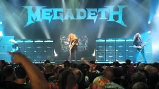 Megadeth Live, Mayhem Fest 2011 Camden NJ