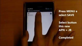 YMOBILE (SoftBank) APN SETTING screenshot 1