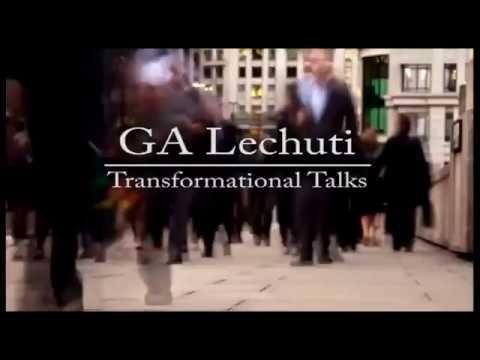 DR GA Lechuti addressing leaders