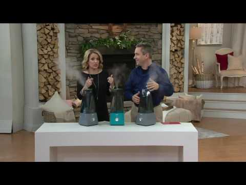 Air Innovations Clean Mist Ultrasonic Humidifier with Extra Filter on QVC