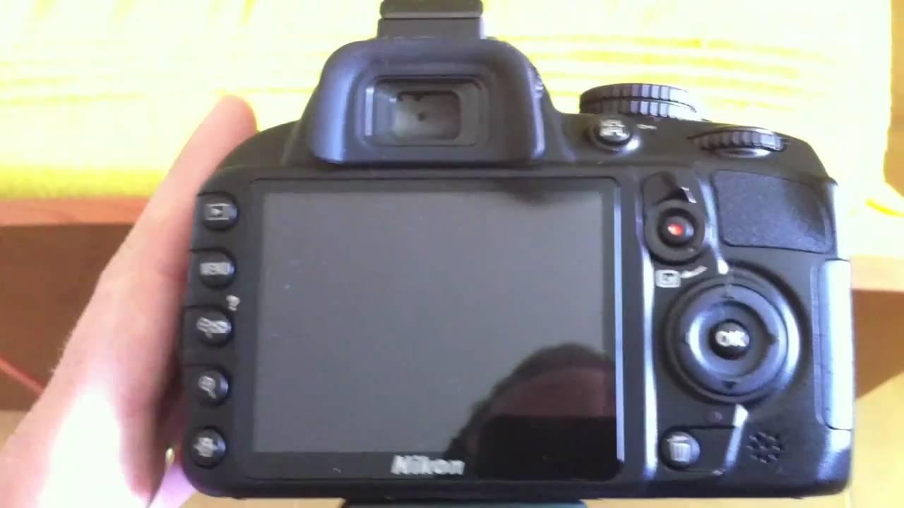 nikon d3100 videoreview videoprova youtube rh youtube com Nikon D3200 Photography Nikon D3200 Cheat Sheet