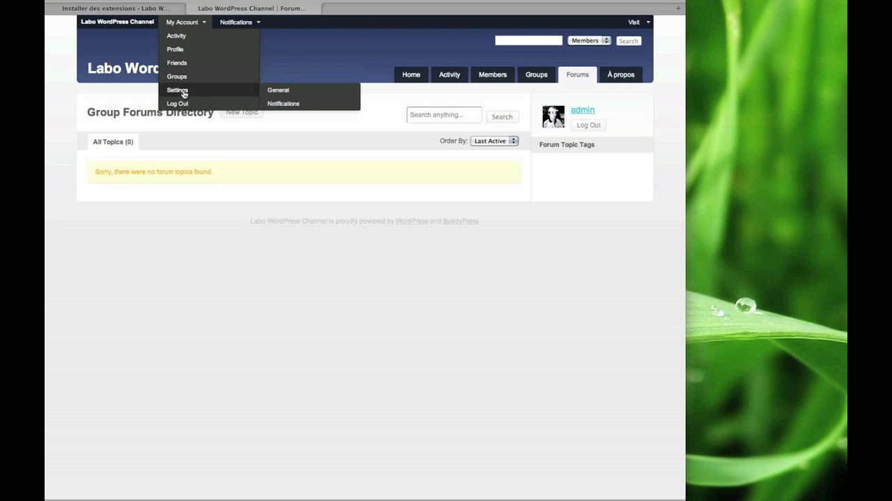 BuddyPress, créer votre réseau social avec WordPress