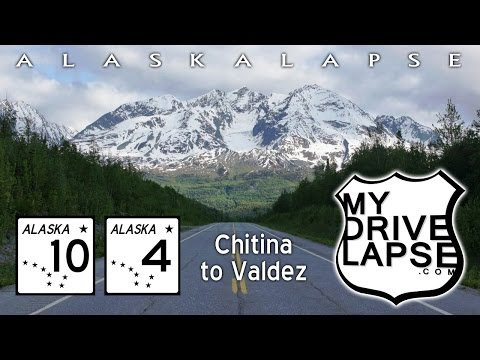 Chitina to Valdez, over Thompson Pass, Richardson Highway