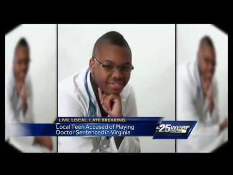 Fake teen doctor sentenced in Virginia