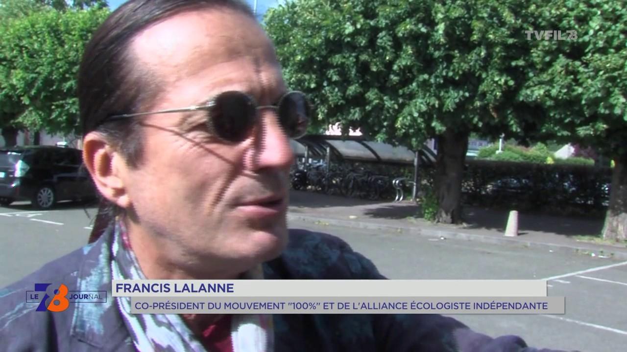 Législatives : visite de Françis Lalanne à Saint-Remy-lès-Chevreuse