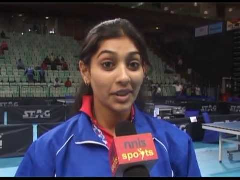 Neha Aggarwal Indian Table Tennis Player Neha Aggarwal On Sports Film