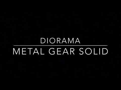 Diorama Metal Gear Solid ~Mianfero Dioramas~