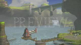 Zelda Twilight Princess (Lake Hylia #1) - 4K 60FPS Looping Background by Henriko Magnifico