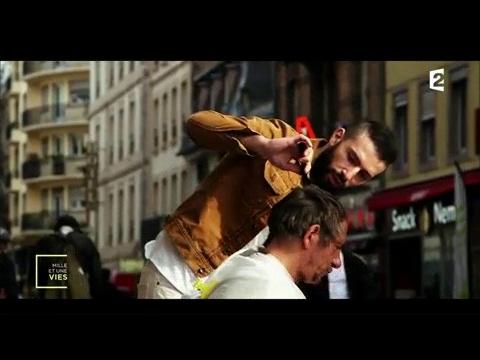 Coiffeur de star, il coiffe des SDF - Mille et une vies