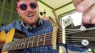 Eric Church - Desperate Man // easy guitar tutorial