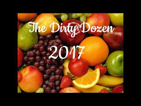 The 2017 Environmental Working Group Dirty Dozen Has Been Released