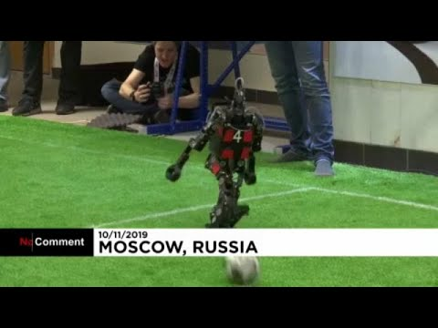 شاهد: الروبوتات تلعب كرة القدم في بطولة خاصة في موسكو  - 23:58-2019 / 11 / 10