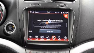 Dodge Journey - UConnect Navigation