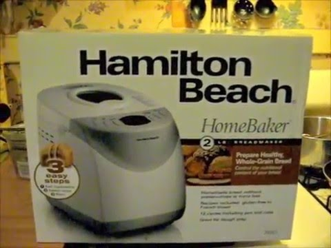 hamilton bread machine recipe