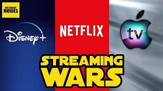 Will Disney Plus & Apple Crush Netflix?