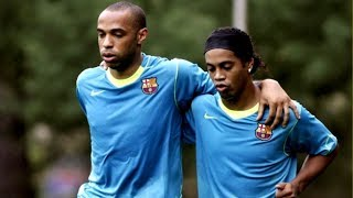 Ronaldinho vs Thierry Henry ● Joga Bonito Session