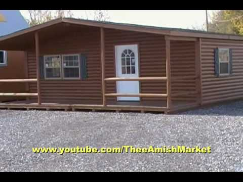 Video Brochure Log Cabin Doublewide
