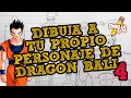 APRENDE A DIBUJAR A TU PROPIO PERSONAJE DE DRAGON BALL | EL CUERPO (PARTE 4)