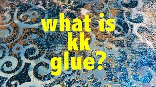 Ne KK Yapıştırıcı? Tekstil ve kağıt colouricious engellemek için süper yapıştırıcı tekstil sanat baskı