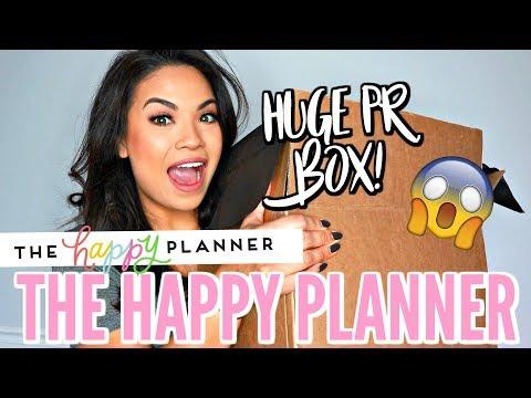 HUGE PR FROM THE HAPPY PLANNER | NEW 2019 HAPPY PLANNER