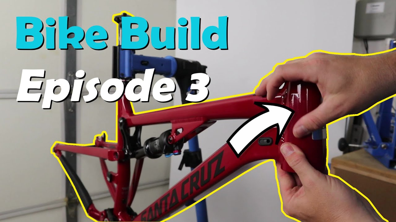 Episode 3 2018 Santa Cruz 5010 V2 1 Al Bike Build Frame Protection