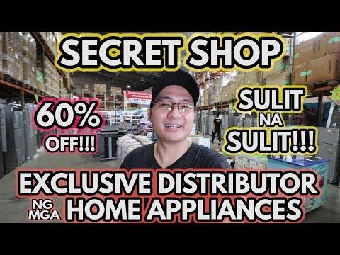 SECRET SHOP   ng mga Distributors Appliance Warehouse Sale   TRENDING