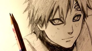 ASMR | Pencil Drawing 101 | Gaara (Request)
