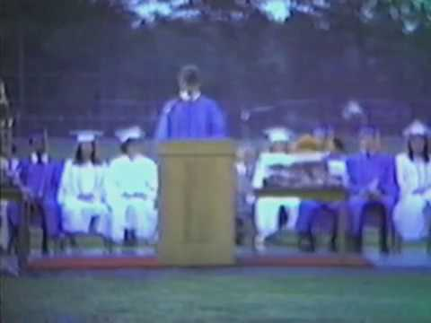 Atkinson County High School Graduation '83 (Clip 2) - 'Best of Times'