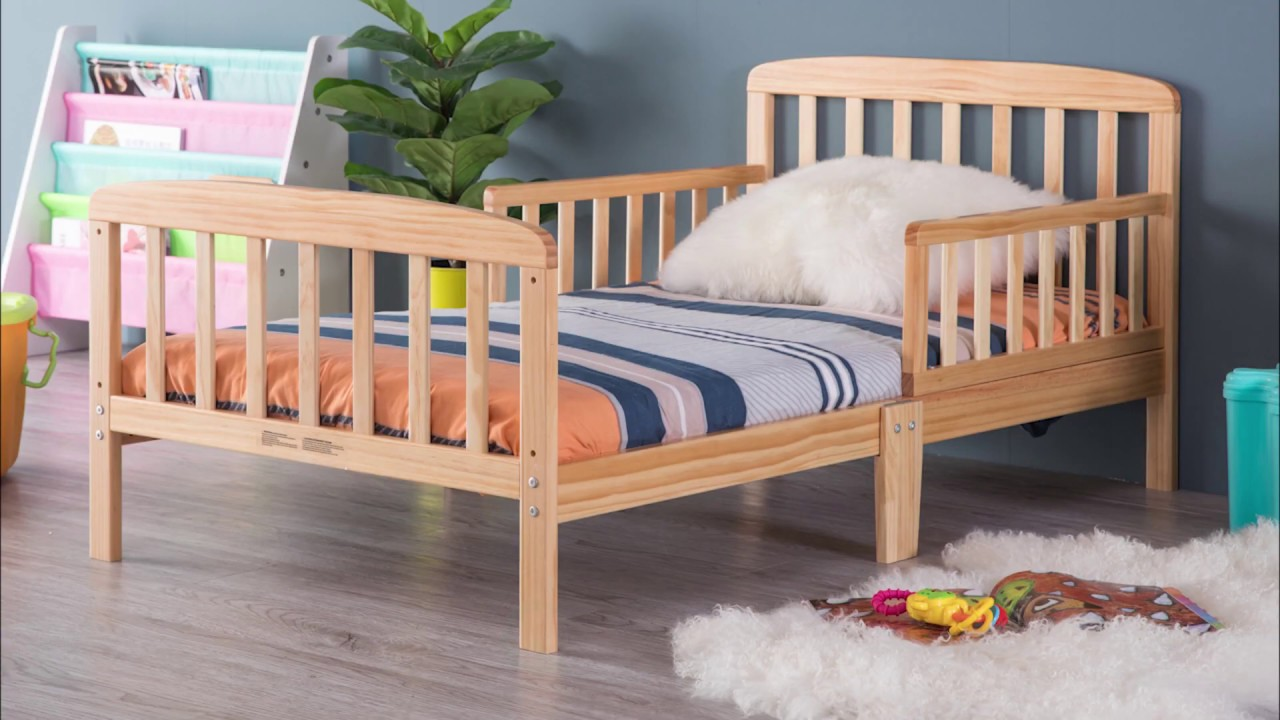 Assembly Instructions Classic Wooden Toddler Bed Frame