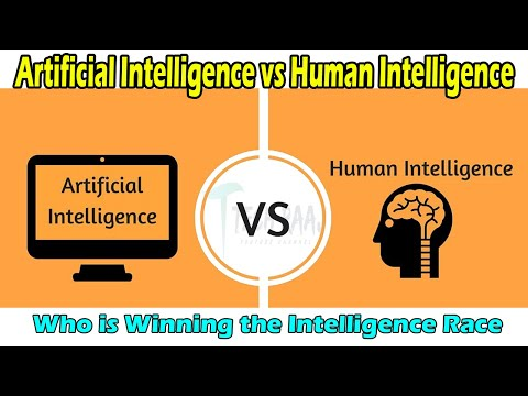 Artificial Intelligence vs Human Intelligence || Who is Win The AI Race ? || Hindi